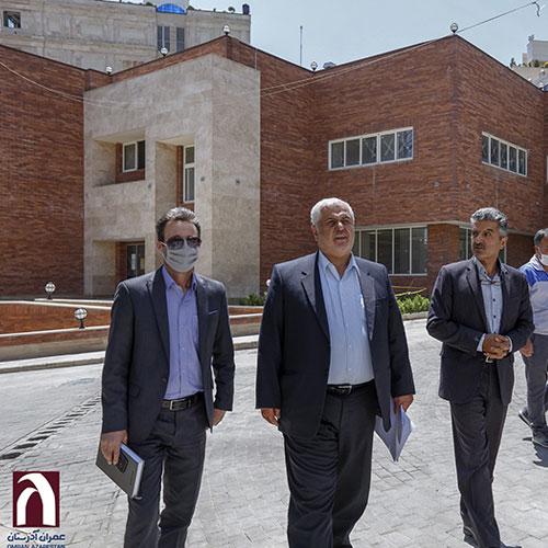 بازدید-مدیرکل-بنیاد-شهید-تهران-از-پروژه-بقیه-الله