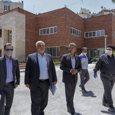 بازدید مدیرکل بنیاد شهید تهران از پروژه بقیه الله